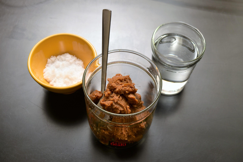 味噌1対塩水1