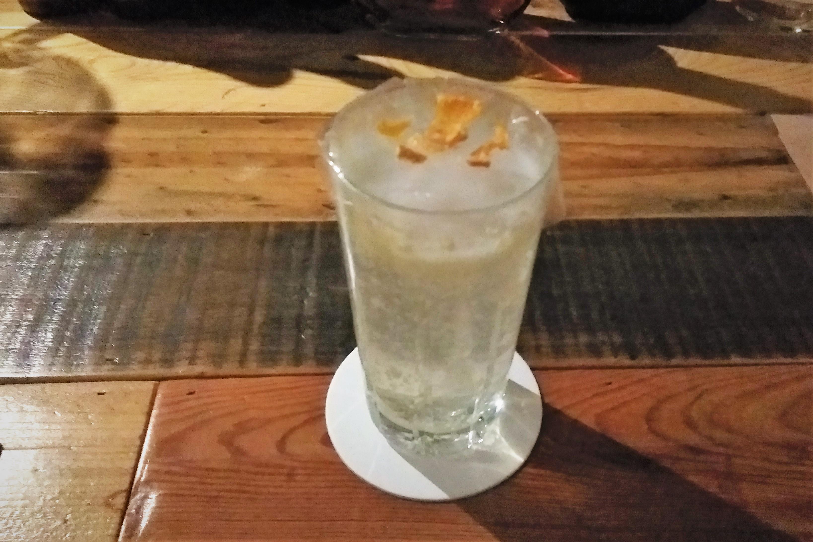 岩城島レモンのレモンサワー