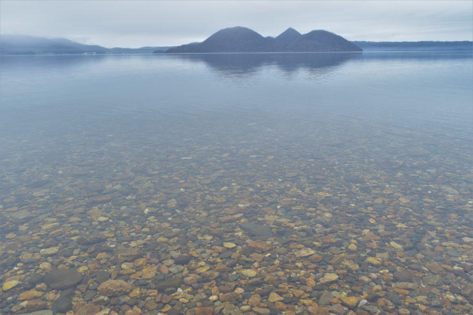 美しい洞爺湖でゆったりとした時間を過ごす
